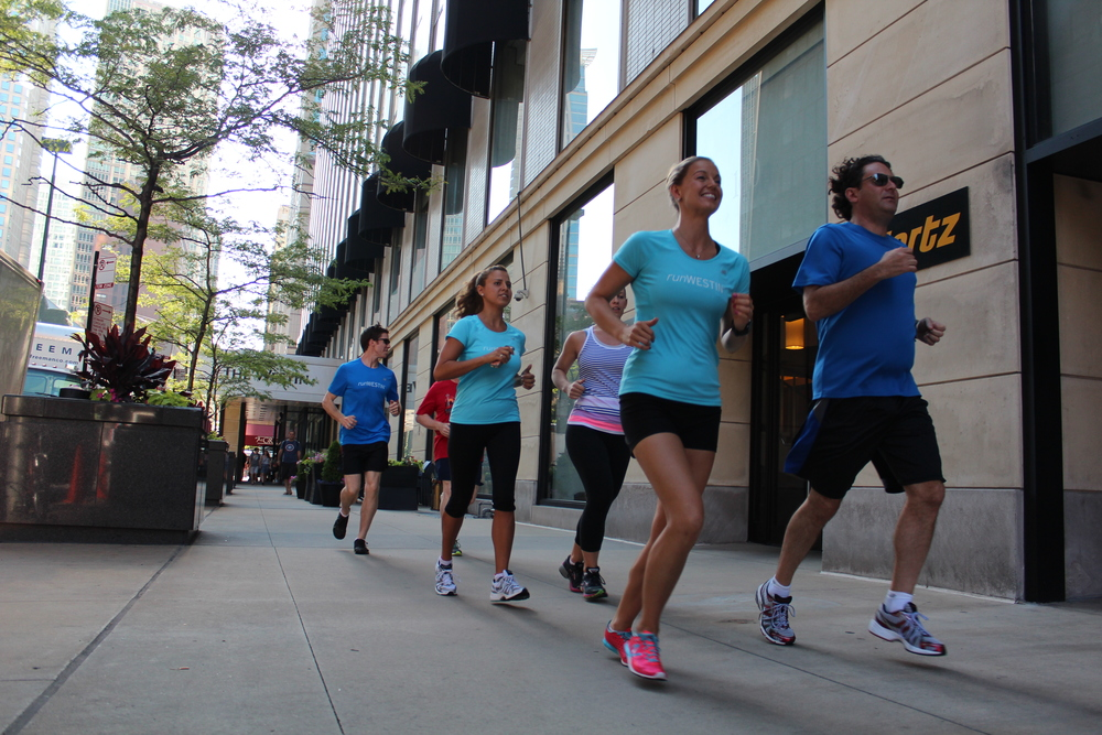 The 3 finalists joined Westin for race weekend in Chicago, where they put their RunWESTIN skills to the test.