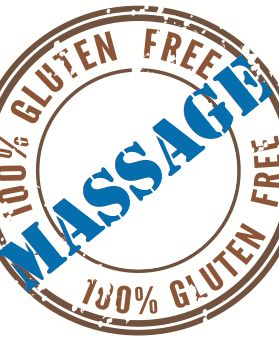 Reneu u massage gluten free stamp