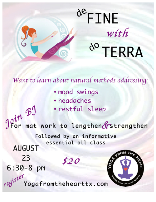 define with doterra at yoga from the heart