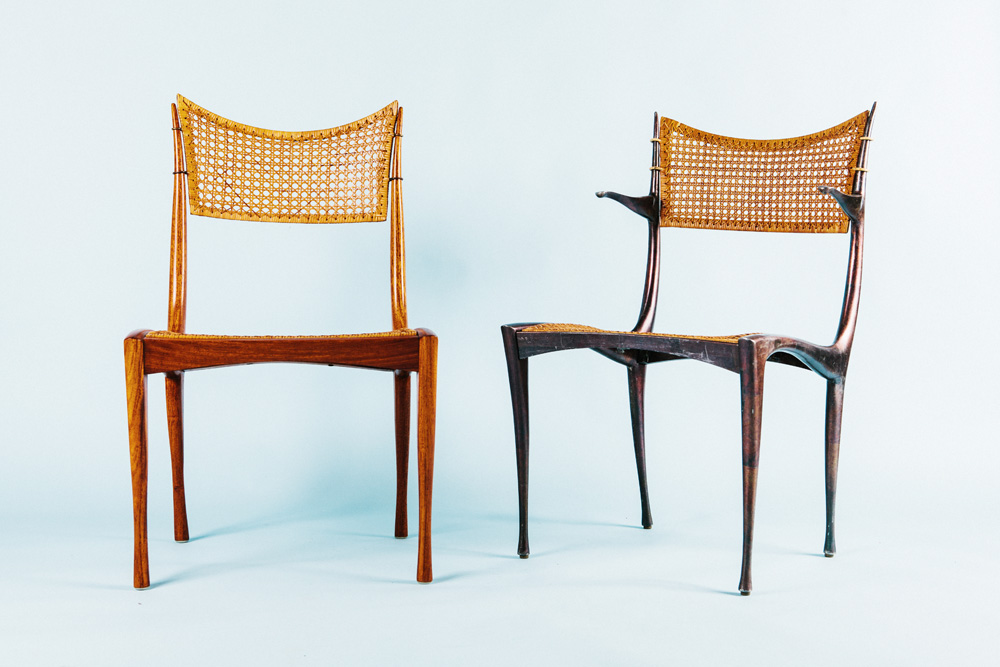 Set of 6 - Dan Johnson Gazelle Chairs