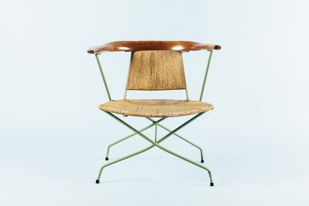1950s Woven Chair