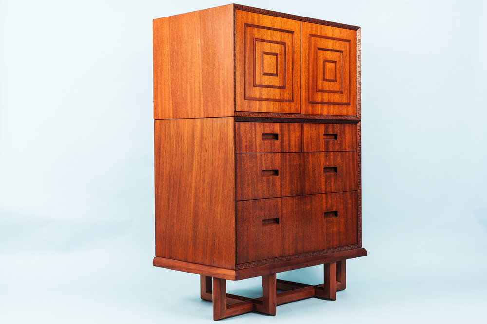 Frank Lloyd Wright Stacking Chest