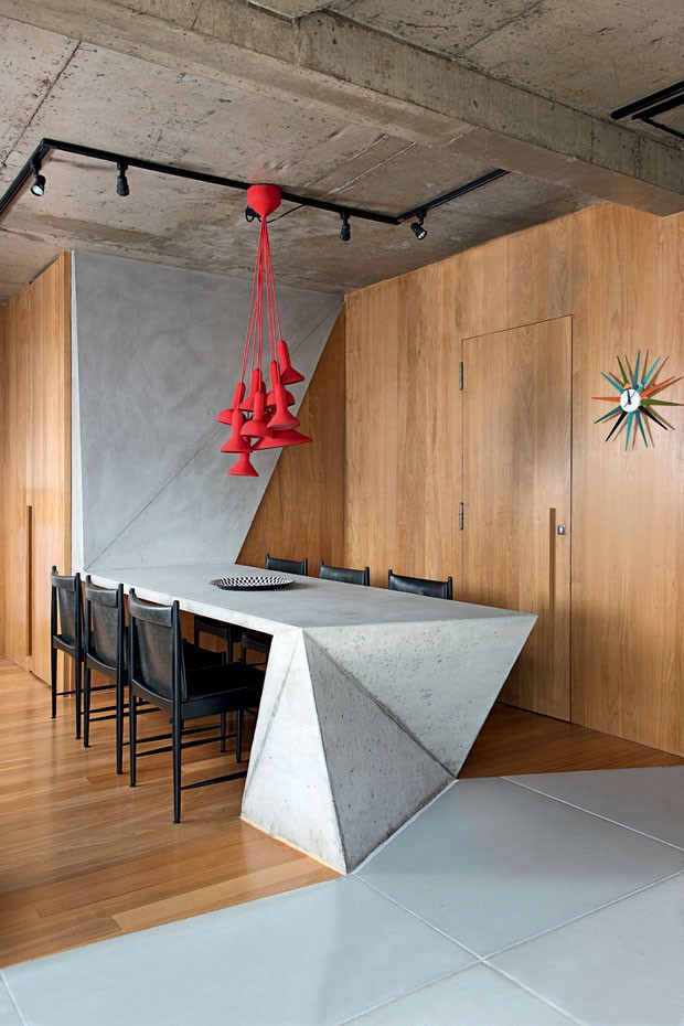 Dining Room by Guto Requena in Sao Paulo
