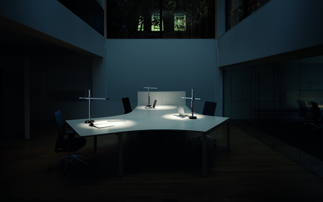 "First released in 2011, Jake Dyson's CSYS lamp, which also uses heat-pipe technology to keep LEDs running longer and more efficiently, is now available in a floor version. ""What we'll be doing now is developing more lights with Dyson,"" Jake says, ""so we're working with the company as opposed to bringing nearly finished products into Dyson."""