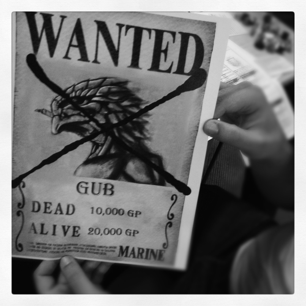 Gub's WANTED