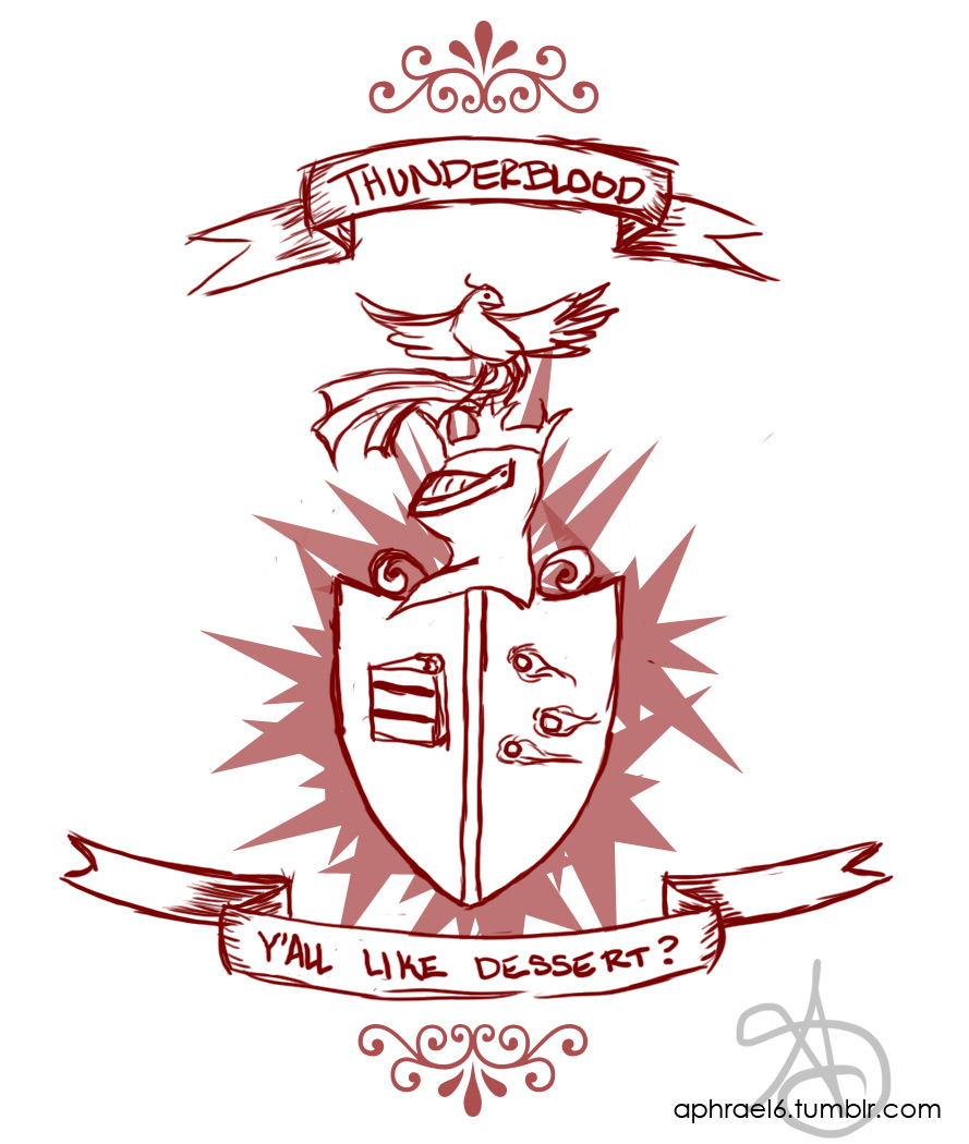 Thunderblood Crest….Y'all like dessert?