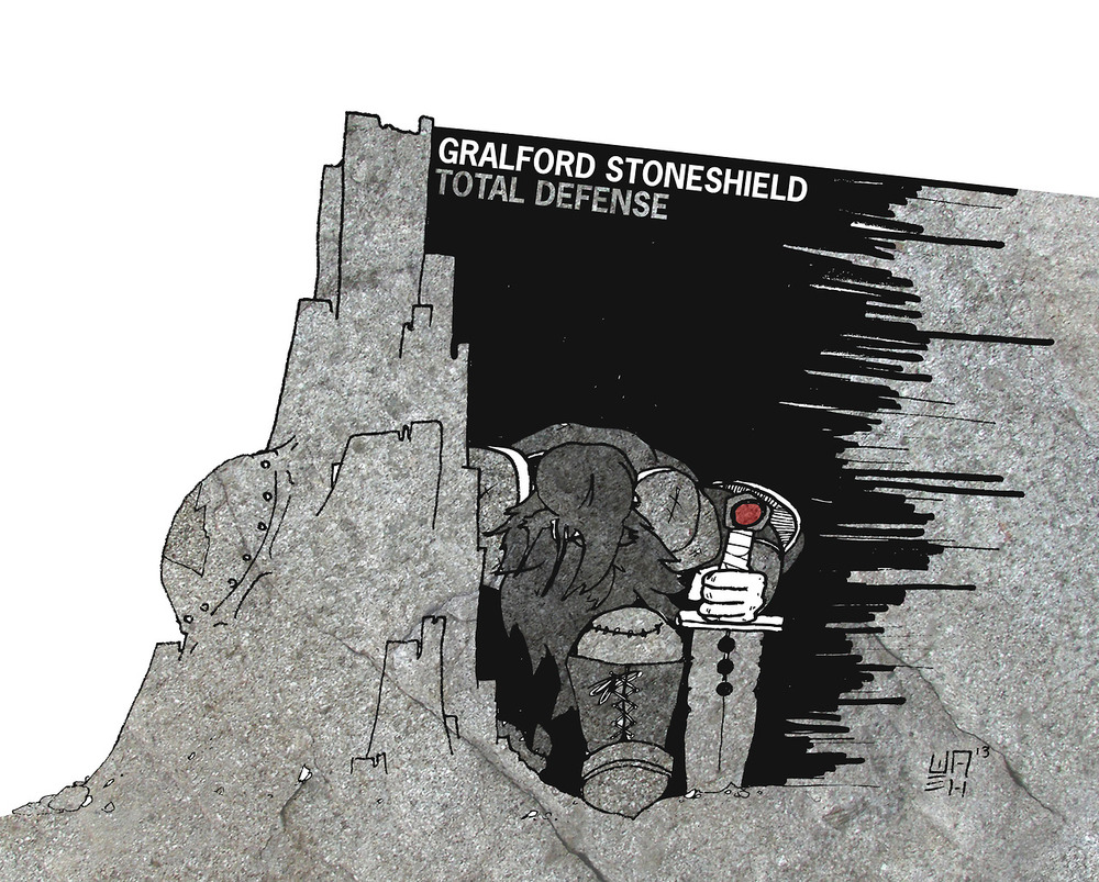 Gralford Stoneshield: Total Defense
