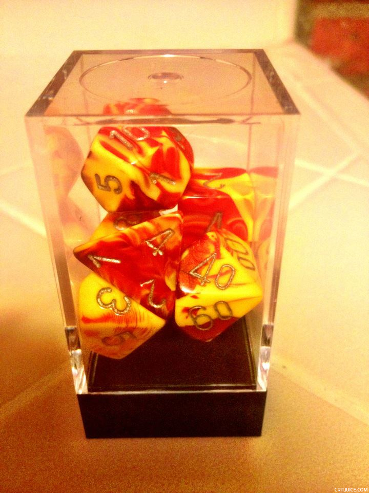 More new dice.