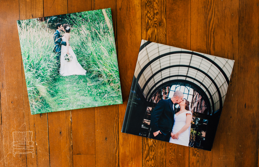 Padded, matte finish covers featuring a 12X12 image!