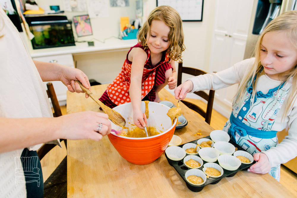 Mother-Daughters Cupcake Baking Session
