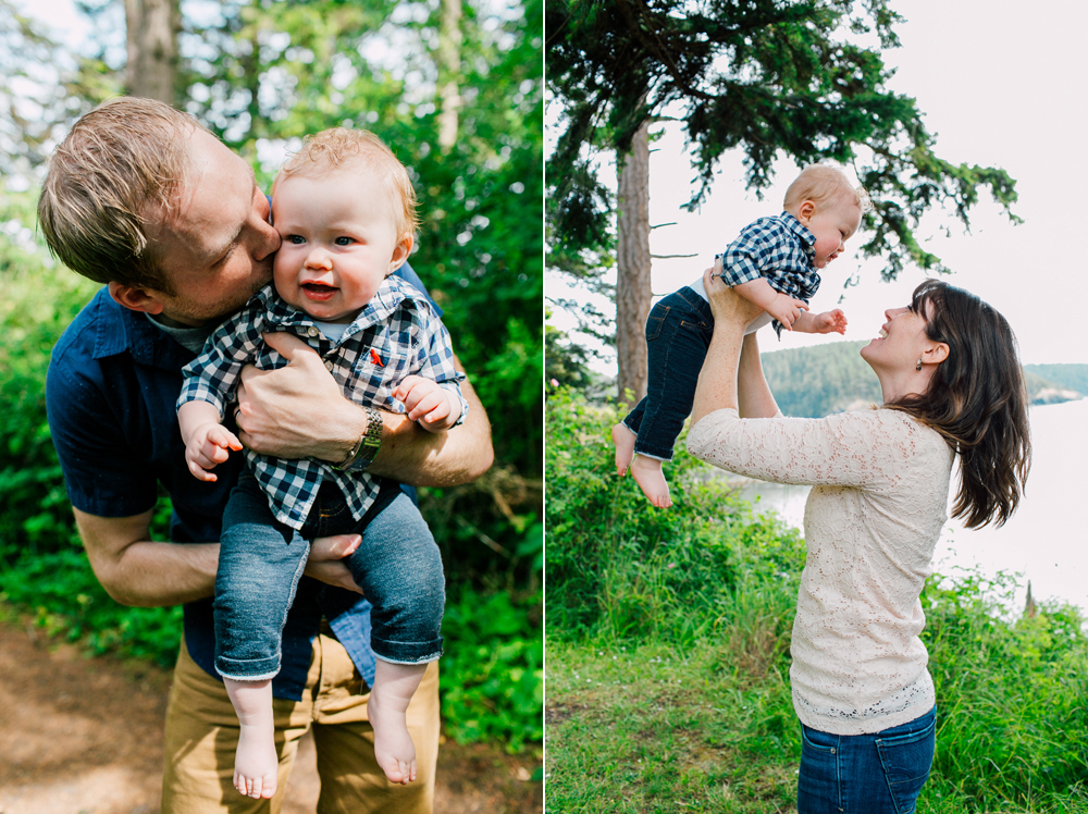 Bellingham Family Photographer Katheryn Moran Washington State Park Anacortes