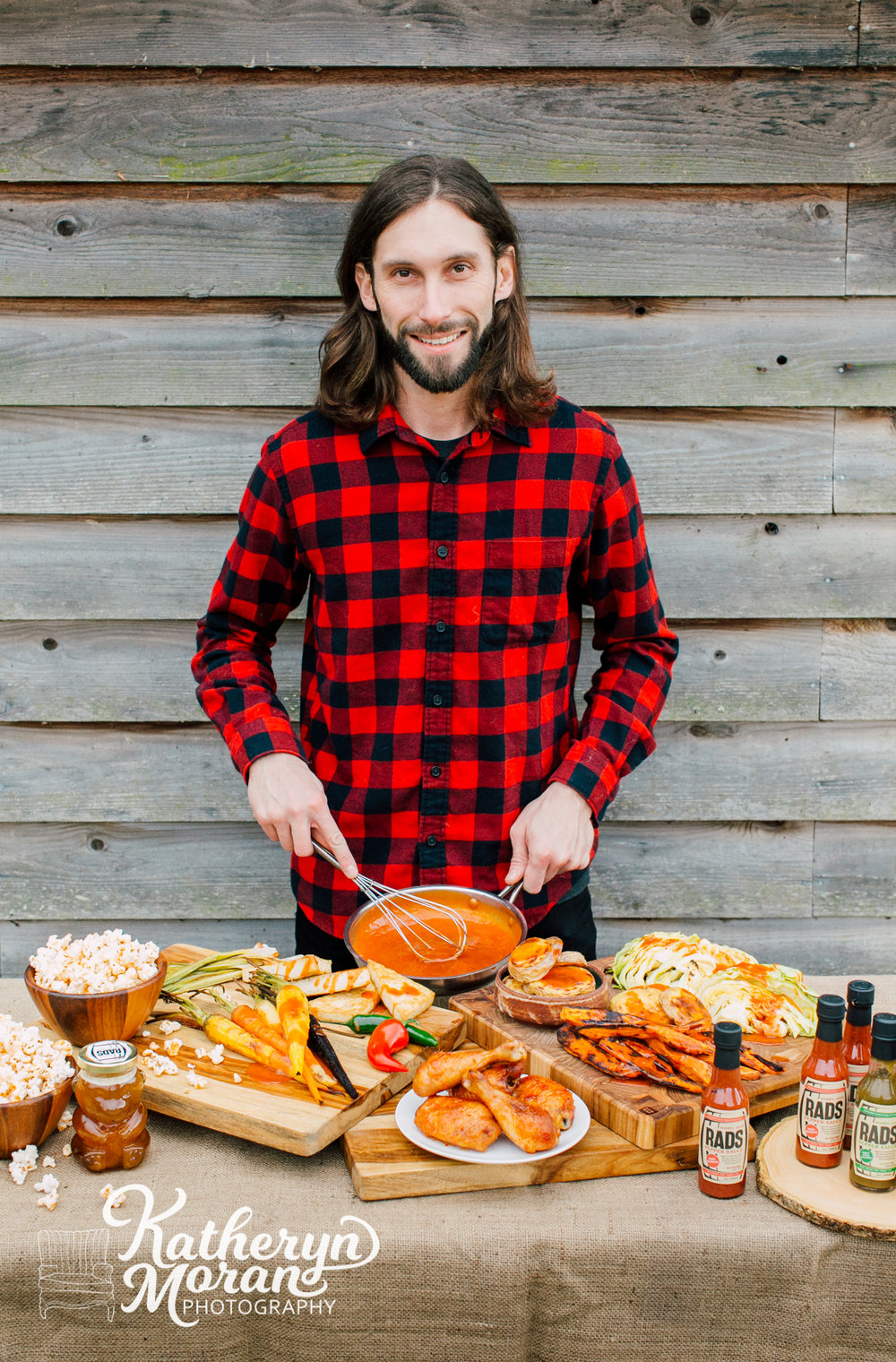 Bellingham Food Photographer, Food Stylist Katheryn Moran, RADS Hot Sauce