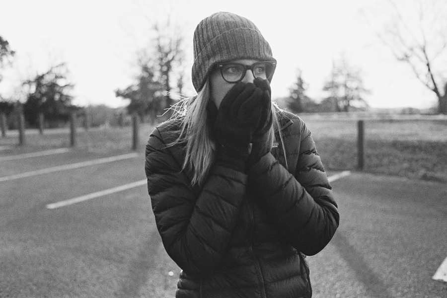 ^ Even our two year stint in the mountains of California hadn't quite prepared Jaclyn for the frigid cold of winter in Nashville...she had about a 5 minute max time for being outside before it was time to get back to somewhere heated.