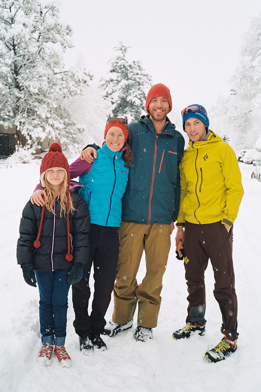 Grace, Sarah, Carl, and Joe.