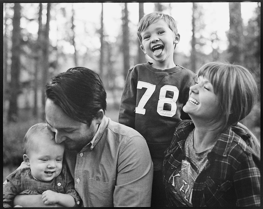 Quite fittingly, our last Visitor Portrait was of the family that inadvertently started it all, The Chans - Photographed on a Pentax 67 with 90mm f2.8 on TRI-X film.
