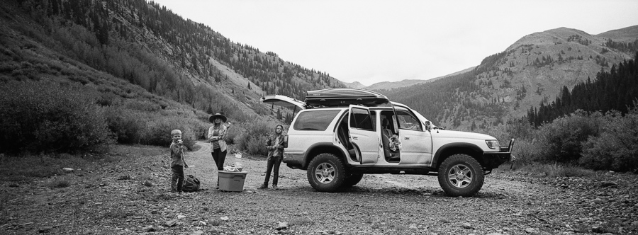 ^ Another day, another off-road picnic. Somewhere Colorado.