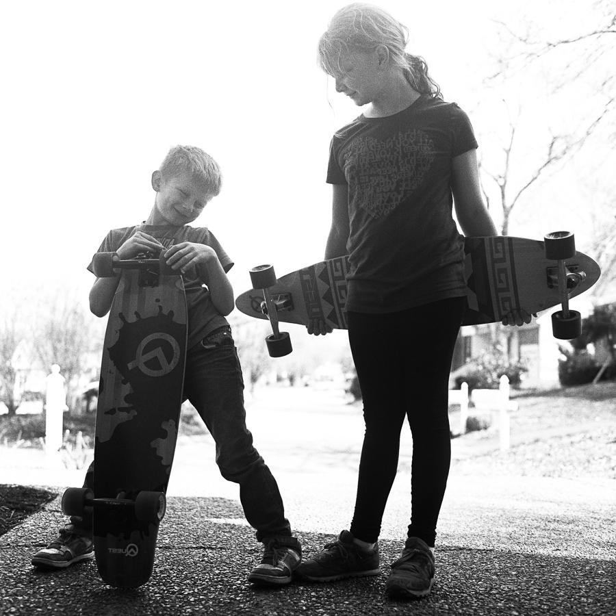 Skateboard loinfruits.