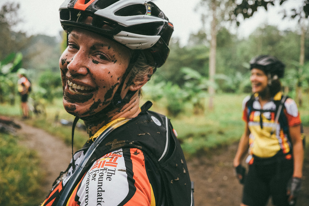 ^ Lisa quickly proved that the mud was not to be messed with.