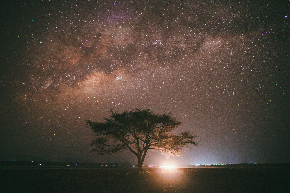 ^ The night sky in Tanzania is something else altogether.