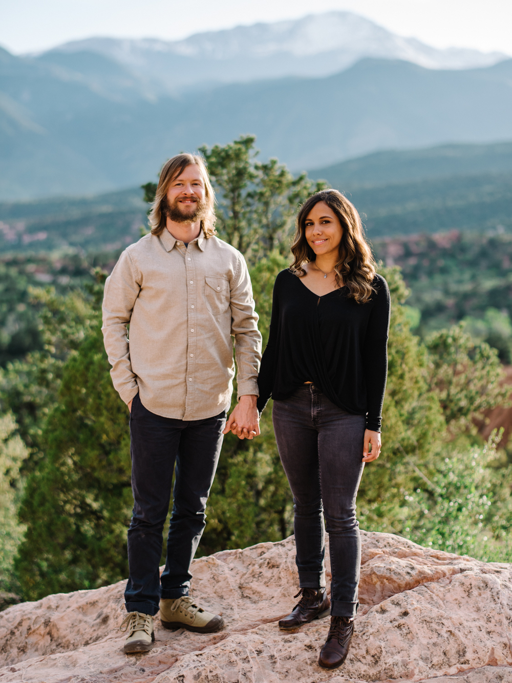 Garden of the Gods-Colorado Springs, Colorado-Engagement-Neal Dieker-Colorado Engagement-Colorado Phototographer-Mountain Engagement-134.jpg