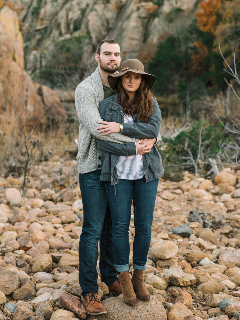 Wichita Mountains Wildlife Refuge-Oklahoma Engagement Photography-Wichita Mountains Portraits-Wichita Mountains Engagement-Neal Dieker-136.jpg