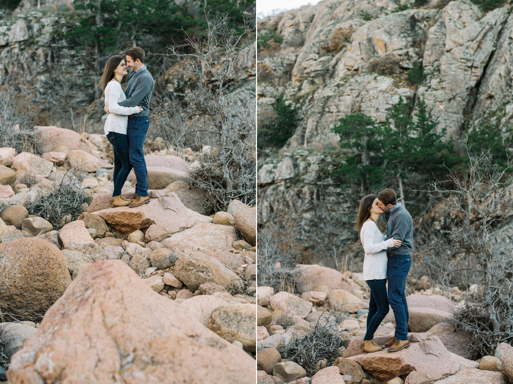 Wichita Kansas Engagement Photographer-Oklahoma Photographer-Wichita Mountains-Neal Dieker-113.jpg