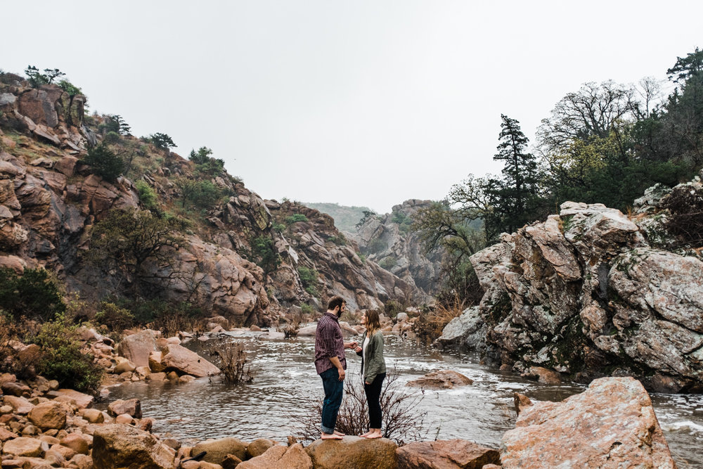 Oklahoma Engagement-Neal Dieker-Oklahoma Wedding Photography-Wichita Mountains-Wichita, Kansas Portrait Photographer-146.jpg