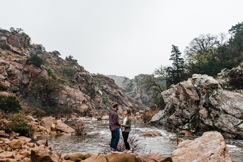 Oklahoma Engagement-Neal Dieker-Oklahoma Wedding Photography-Wichita Mountains-Wichita, Kansas Portrait Photographer-147.jpg