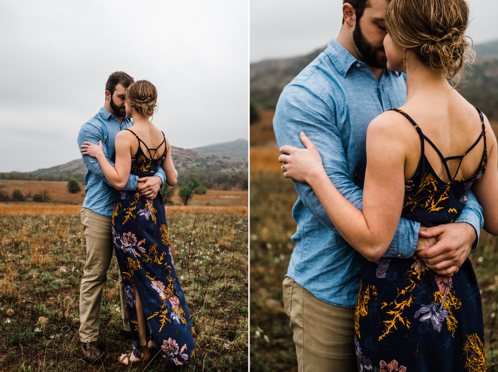 Oklahoma Engagement-Neal Dieker-Oklahoma Wedding Photography-Wichita Mountains-Wichita, Kansas Portrait Photographer-175.jpg