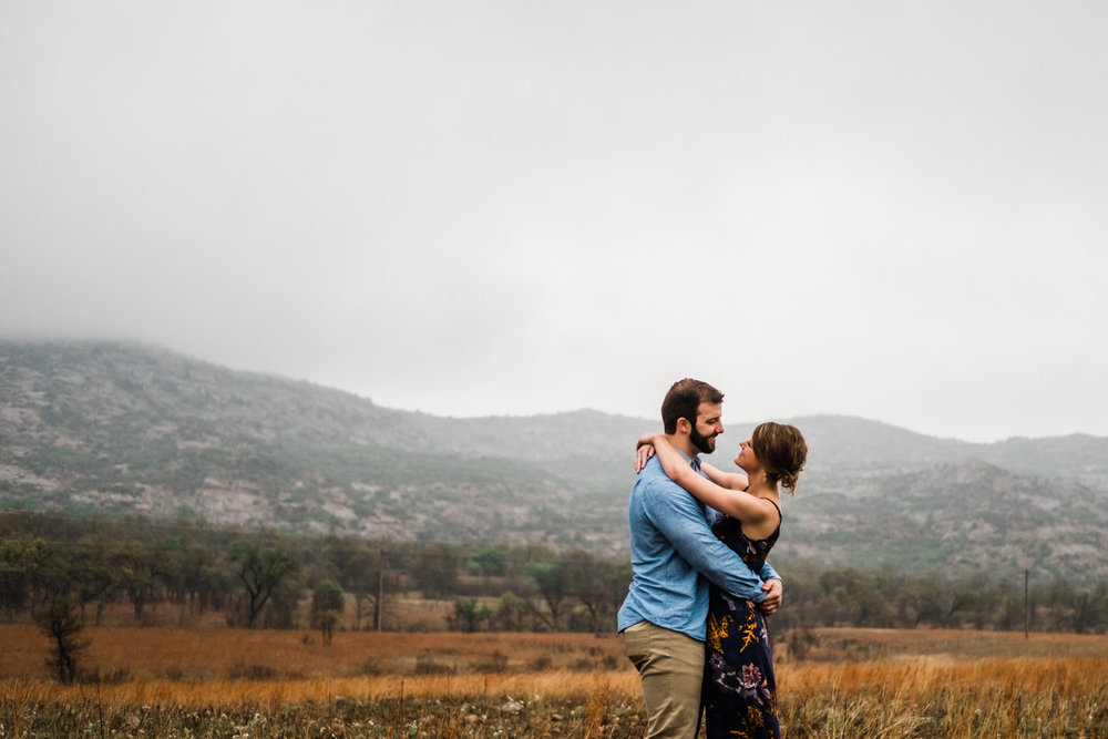 Oklahoma Engagement-Neal Dieker-Oklahoma Wedding Photography-Wichita Mountains-Wichita, Kansas Portrait Photographer-191.jpg