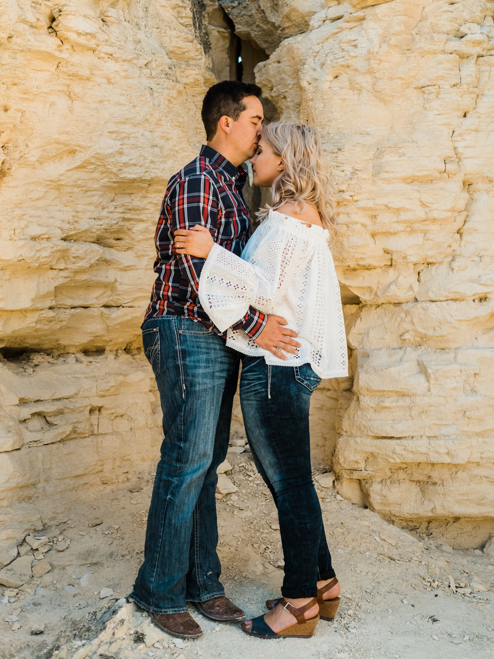 Wichita, Kansas Engagement Photography-Wichita, Kansas Photographer-Castle Rock, Kansas-Western Kansas Photographer-Dodge City, Kansas Photographer-Neal Dieker-124.jpg