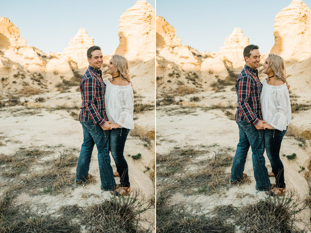 Wichita, Kansas Engagement Photography-Wichita, Kansas Photographer-Castle Rock, Kansas-Western Kansas Photographer-Dodge City, Kansas Photographer-Neal Dieker-146.jpg
