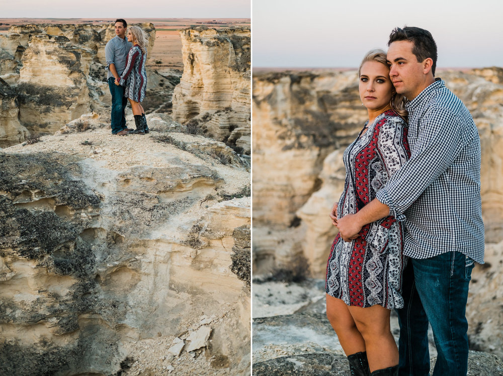 Wichita, Kansas Engagement Photography-Wichita, Kansas Photographer-Castle Rock, Kansas-Western Kansas Photographer-Dodge City, Kansas Photographer-Neal Dieker-157.jpg