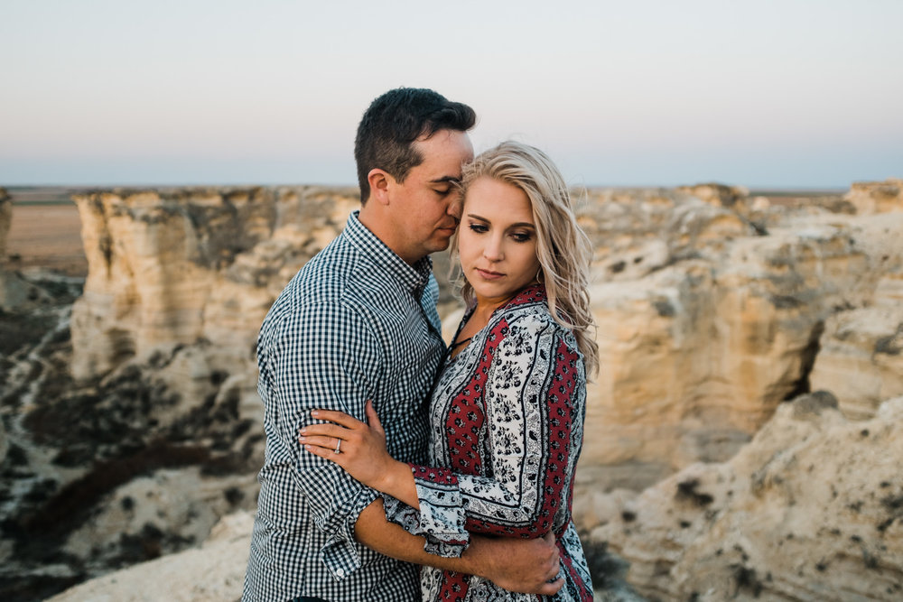 Wichita, Kansas Engagement Photography-Wichita, Kansas Photographer-Castle Rock, Kansas-Western Kansas Photographer-Dodge City, Kansas Photographer-Neal Dieker-161.jpg