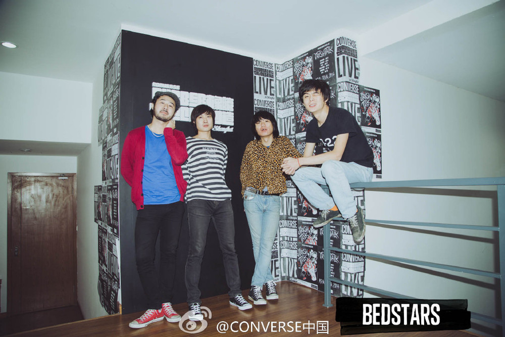 Bedstars Recording Session