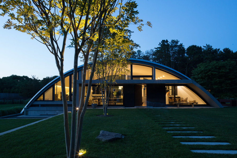 Arc House, MB Architecture, Wainscott, NY