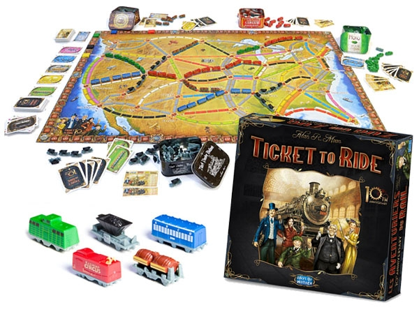 10th Anniversary Ticket To Ride Edition