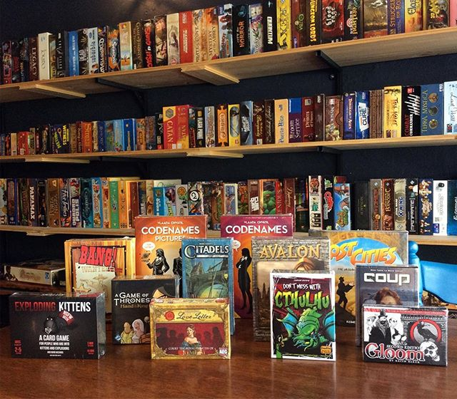 """Board"" of the same old Christmas shopping game? Make a night of it and test trial potential gift ideas with 10% off board games when you stay and play! You're welcome 😉"