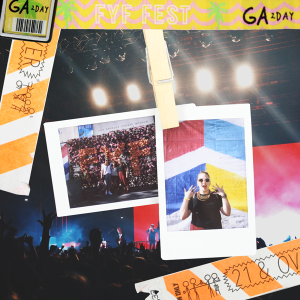 Some Instax at FYF