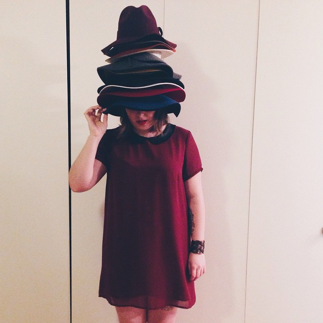 Also the term crazy hat lady.
