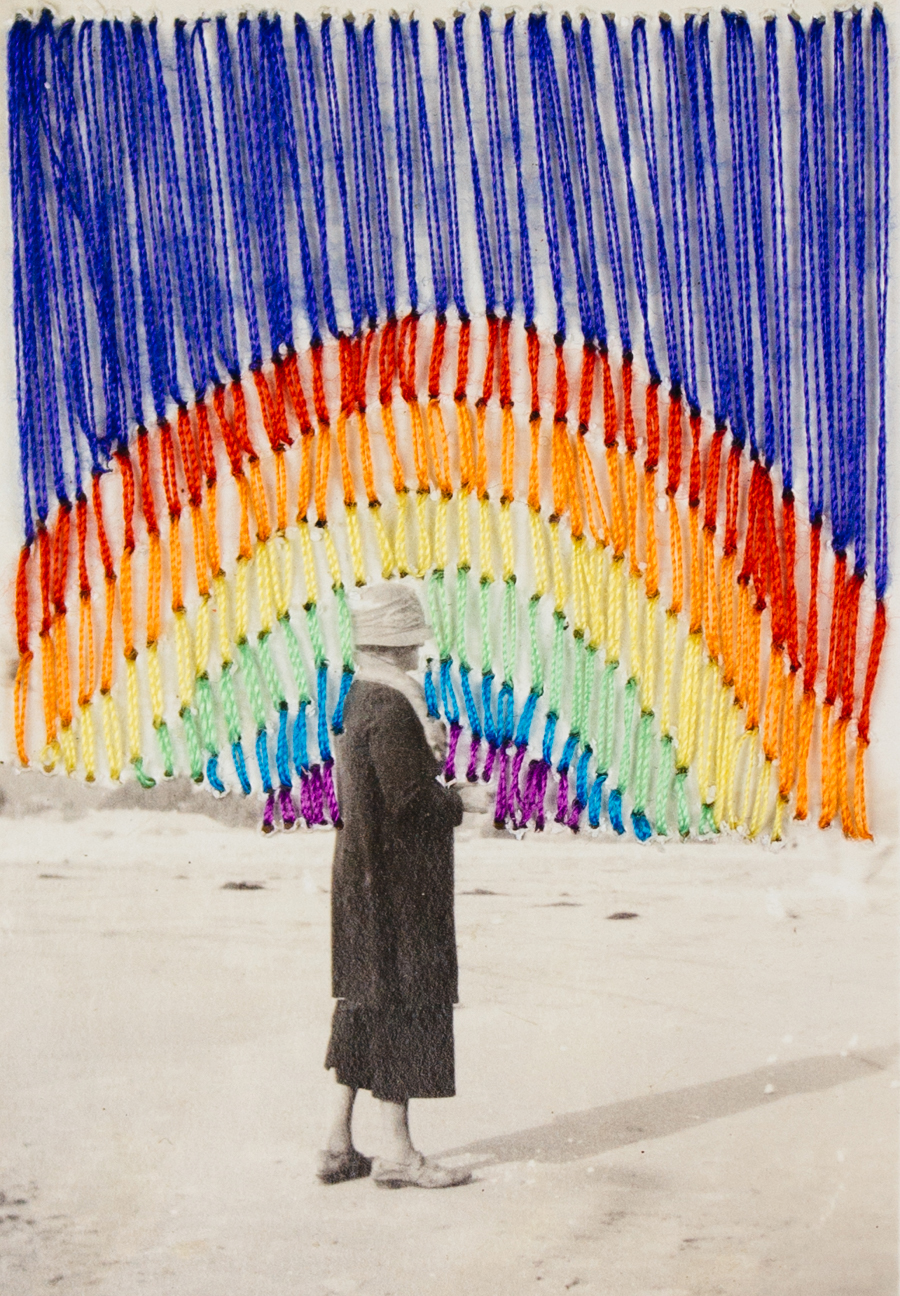 "Searching for Rainbows, 2.5""x3.25"""
