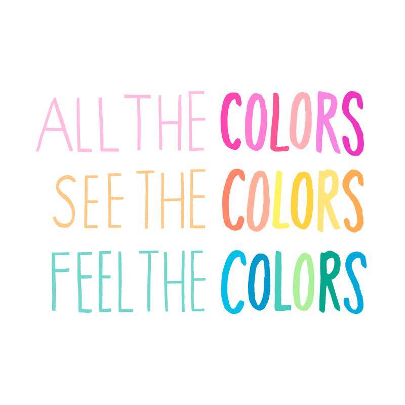 Lyrics from Beck's song, Colors.