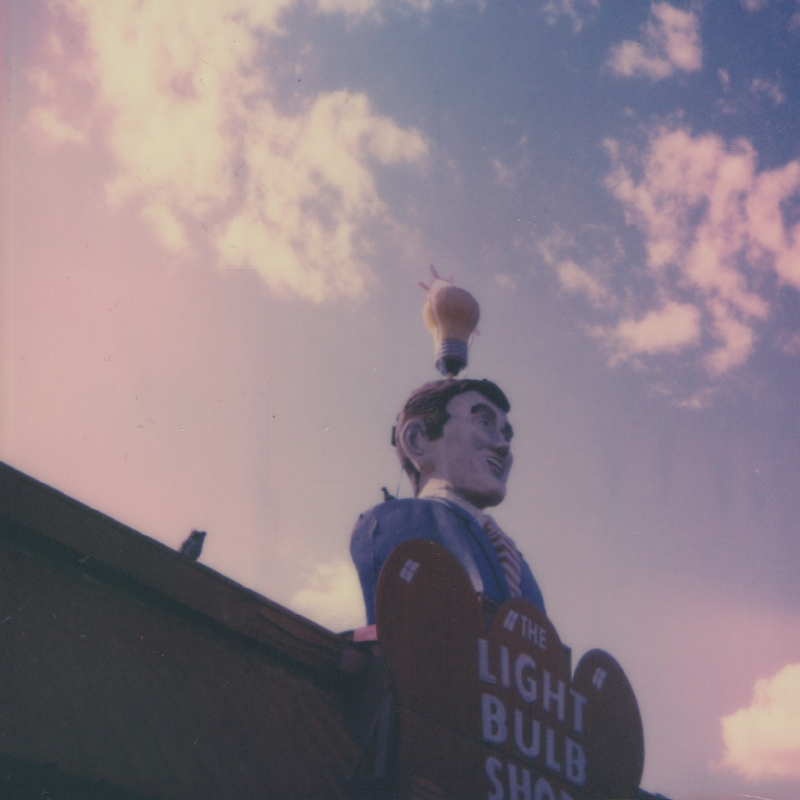 Polaroid | Lightbulb Shop | Austin, TX | Julia Walck
