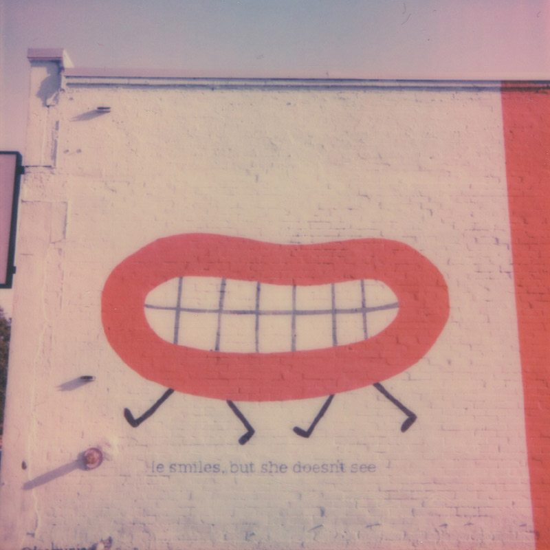Polaroid | Lips | Austin, TX | Julia Walck