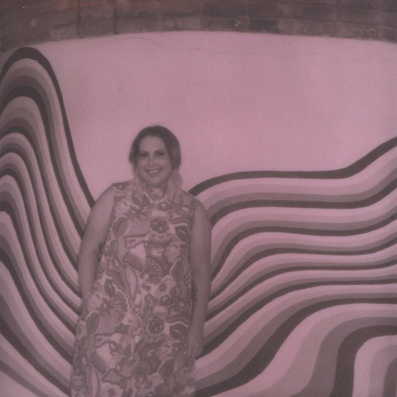 Polaroid | Julia at the Austin Motel |Austin, TX | Julia Walck