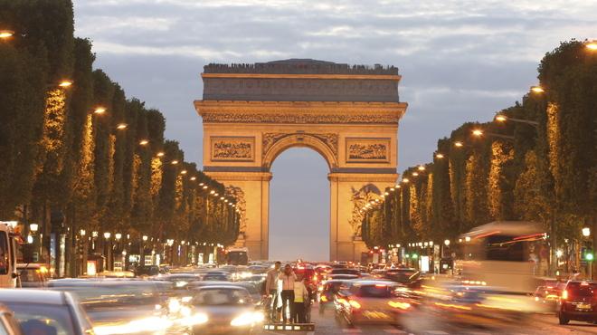 Avenue des Champs-Élysées via timeout.com