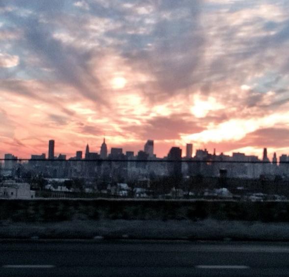 #inspiration    #themusediaries    #hautestreet    #nyc  #sunset    #mbfw  photograph by:  @realjessemetcalfe