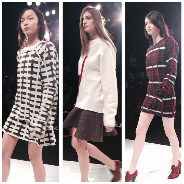 Chunky Knits and Oversized Slouchy Sweaters at   @lacoste  . It's going to be a comfy Fall/Winter 2014   #themusediaries     #hautestreet