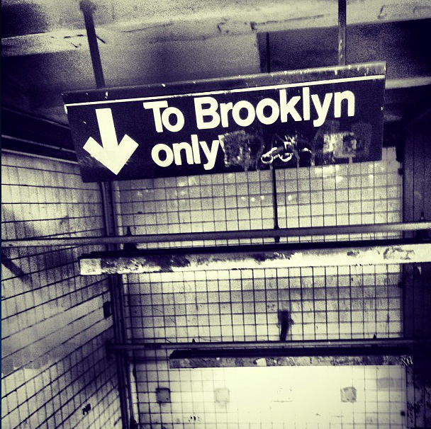 To Brooklyn only.