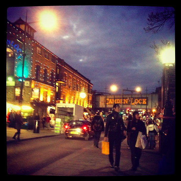 Camden Town my favorite place in the UK